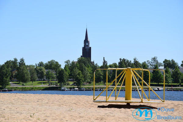 Raahe Church from Beach